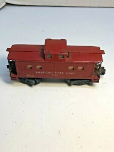 American Flyer # 930 American Flyer Lines Caboose in S Scale