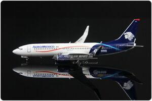 1:400 Scale Phoenix AEROMEXICO B737-800 Passenger Airplane Plane Diecast Model