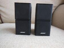 2 x Bose Premium Lifestyle Jewel Cube Speakers (Black). GWO