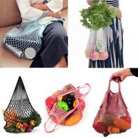 Mesh Net Cloth Turtle Bag String Shopping Bags Reusable Fruit Storage Handbags