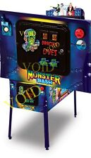 MONSTER BASH Pinball COIN DOOR MAGNETS ( 5 PIECE SET)