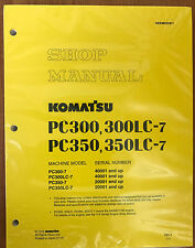 Komatsu Service PC300-7/PC300LC-7/PC350-7/LC-7 Manual