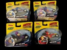 Mickey and the Roadster Racers - Set of 4 Die-Cast Cars Deisy Pete Mickey