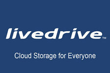 Livedrive Online Cloud Backup Storage 1 Year  Unlimited Data Windows/Mac