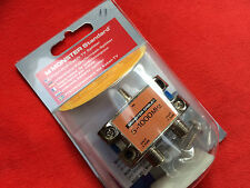 Monster Cable 1 GHz 2 way RF splitter 112786-00
