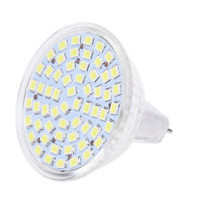 6 x G/ GU/ GX5,3 MR16 3528 SMD 60 LED-Lampe 4W 12V - Weiss  DE