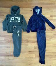 Lot Of Boys 2 Piece Sweatsuit Jogging Outfit Track Suit Excellent Condition