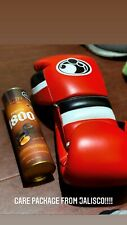 Red Grant Worldwide Boxing gloves In 16 oz with Laces