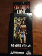 "New listing 2003 Dc Direct Kingdom Come Wonder Woman Wave 1 Alex Ross 6"" Action Figure Mib!"