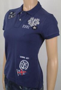Polo Ralph Lauren Navy Blue Skinny Fit Nautical Shirt NWT