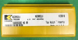 5 Pcs Kennametal NG3062LK KC5010  Carbide Inserts Grooving