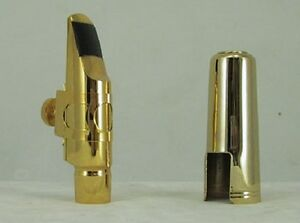 New 14K Gold Plated Tenor #7 Saxophone Mouthpiece