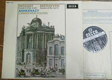 SXL 6252 Beethoven Mozart Quintets  / Ashkenazy W/B