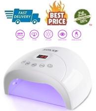 48W Led Uv Kit Maquina Para Uñas De Gel Secado El Tratamiento Secar Lampara Luz