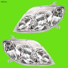 Toyota Corolla Head lights 2001 2002 2003 2004 Right Left Side ZZE122