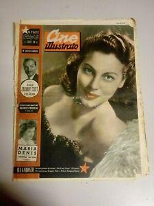 Giornale Cine Illustrato 4 Settembre 1949  n°36 Ava Gardner Jeanne Crain