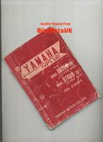 Yamaha DT 250 DT 400 (1976 >>) Genuine Parts List Catalogue Book Manual CH17