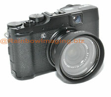 49mm Filter Adapter + Lens Hood for Fujifilm FINEPIX X10 X20 X30 replace LH-X10