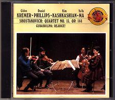 Gidon KREMER KASHKASHIAN YO-YO MA Shostakovich Gubaidulina CBS CD String Quartet