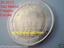2 euro 2013 fdc San Marino saint marin palazzo ducale Сан - Марино rouleau