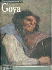 L'OPERA COMPLETA DI GOYA RIZZOLI 1981 CLASSICI DELL'ARTE 74