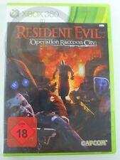 !!! XBOX 360 gioco RESIDENT EVIL RACCOON CITY, usk18, usati ma ben!!!