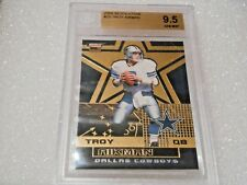 Troy Aikman GRADED CARD!! 2000 Revolution #25 Cowboys!! BGS 9.5 GEM Mint
