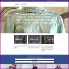 DESIGNER DRESS website Earn £224.00 A SALE|FREE Domain|FREE Hosting|FREE Traffic