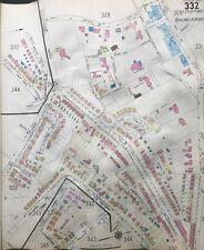 ORIG 1925 SANBORN, SHADYSIDE PITTSBURGH PA CARNEGIE UNION ALUMNI HALL ATLAS MAPS
