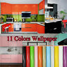 PVC Self Adhesive Wallpaper Kitchen Cabinet Waterproof Vinyl Stickers Wall Decal