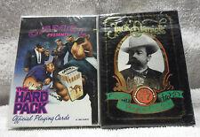 NEW Smoking & Drinking Poker Cards, Jack Daniels & Camel Cigarettes 2 Decks