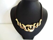 Leather Collar Beauty Costume Necklaces & Pendants