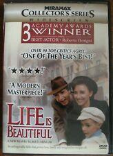 Life Is Beautiful (Dvd, 1999)