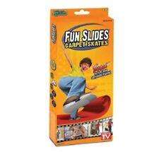 Fun Slides - Carpet Skates For Kids -  Indoor Game Toy Plastic -  AS SEEN ON TV
