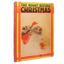 1932 THE NIGHT BEFORE CHRISTMAS Early Illustrated Book w/GIFT INSCRIPTION