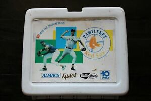 PAWTUCKET RED SOX WHITE LUNCHBOX-SPONSORED BY ALMACS