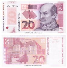 Croatia 20 Kuna 2014 P-New Commemorative Banknotes UNC