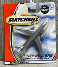 MATCHBOX 2000 SKY BUSTERS COMMERCIAL AND MILITARY AIRCRAFT American AIRLINES