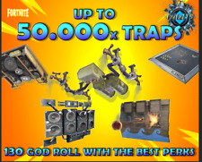 FORTNITE Save The World PL130 GODROLL TRAP PACK