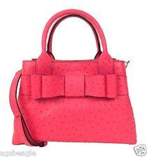 #CRZYHeart Kate Spade Bag WKRU2557 Charm City Ostrich Provence Desert Rose