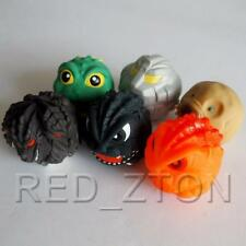 Bandai Godzilla Ball set of 6 - Mechagodzilla, Death Ghidorah, Mothra etc.