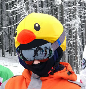 Ducking helmet cover, suitable without alteration for 14 different kind of sport