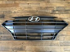 2019-2020 Elantra Sedan Front Bumper Grille Genuine Hyundai With Chrome Accents