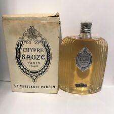 Chypre Sauze Freres parfum 108ml? ( 13cm ) Vintage 1940's