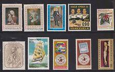 (U23-33) 1960-70 Venezuela mix of 10stamps values to 1B (F)