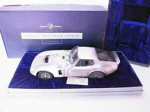 Franklin Mint B12C598 Shelby Cobra Daytona Coupe Pewter 1:12 Model Car Boxed