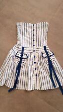 Superbe robe Bustier Jean Paul Gauthier  taille 40 en coton