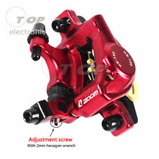 2pcs MTB Road XC Bike Hydraulic Disc Brakes Calipers Front Rear Mechanical pull