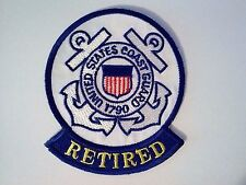 United States Coast Guard Retired Patch