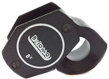 "BelOMO 8x Loupe Magnifier. 14 mm (.55"") Jewelry Instrument. Brand Viewing Loupe"